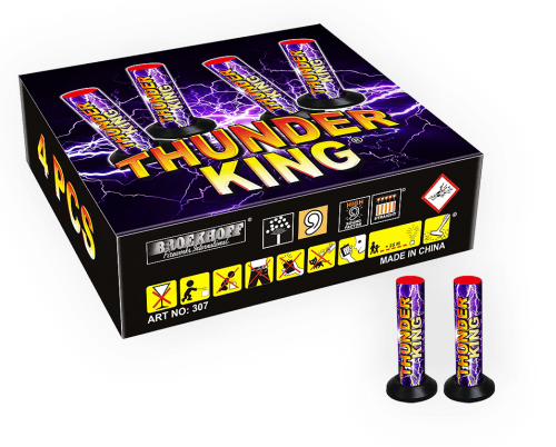 Thunder King 4er Pack